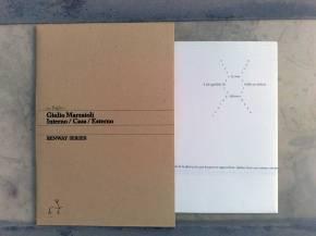 Giulio Marzaioli, Dedans / Maison / Dehors | Interno / Casa / Esterno, Foglio1