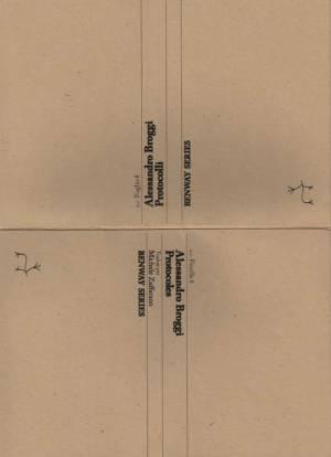 Alessandro Broggi, Protocoles  = Protocolli, Feuille/Foglio 8