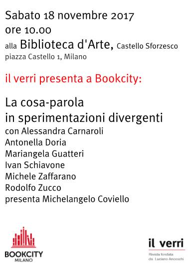 Benway a BookCity. Milano 18 novembre 2017