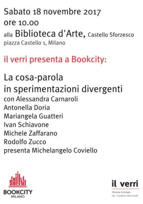 Benway a BookCity. Milano 18 novembre2017