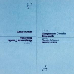 Giorgiomaria Cornelio, Rinnovella | Renouvelle, Foglio/Feuille11