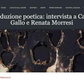 La traduzione poetica: intervista a Carmen Gallo e RenataMorresi